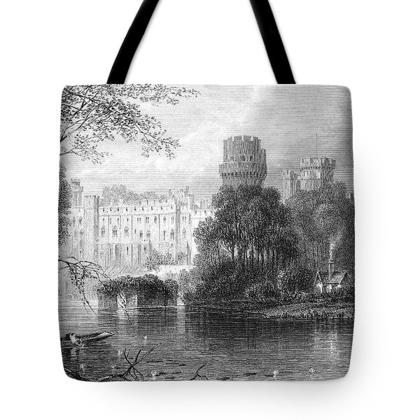 England: Warwick Castle Tote Bag by Granger