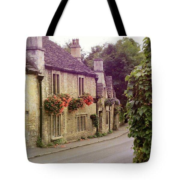 Tote Bag featuring the photograph English Village by Jill Battaglia
