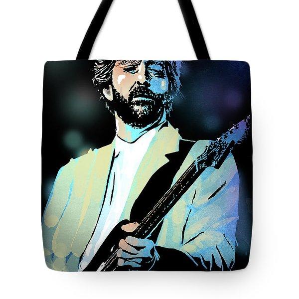 Eric Clapton Tote Bag by Paul Sachtleben