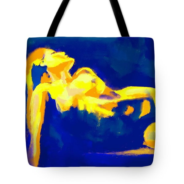 Evening Nude Tote Bag