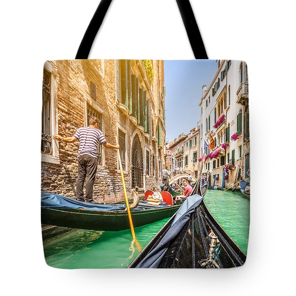 Exploring Venice Tote Bag