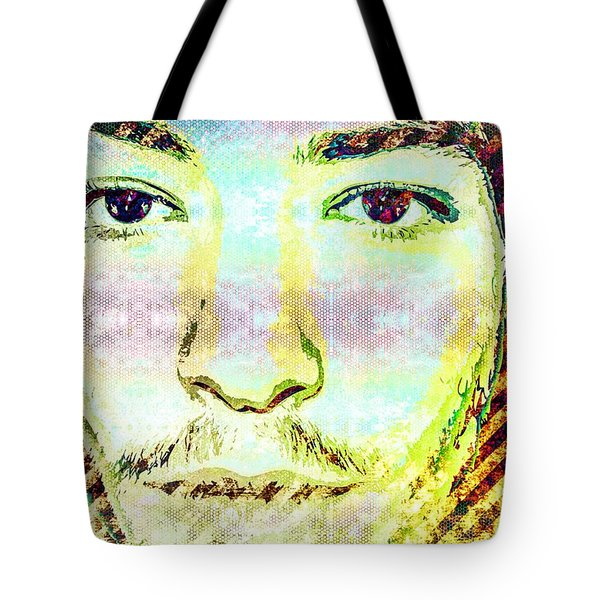 Ezra Miller Tote Bag by Svelby Art