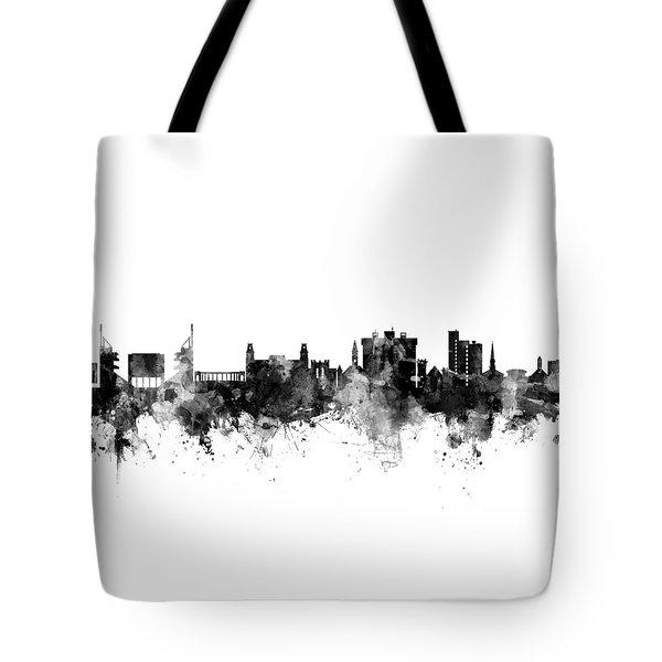 Fayetteville Arkansas Skyline Tote Bag