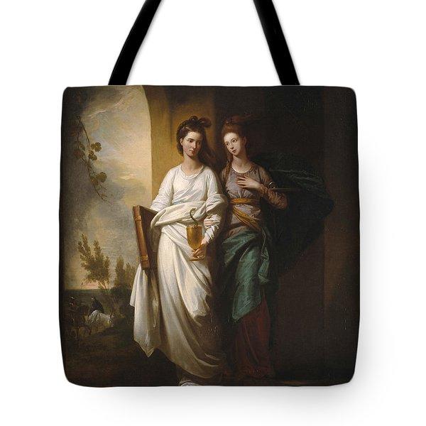 Fidelia And Speranza Tote Bag