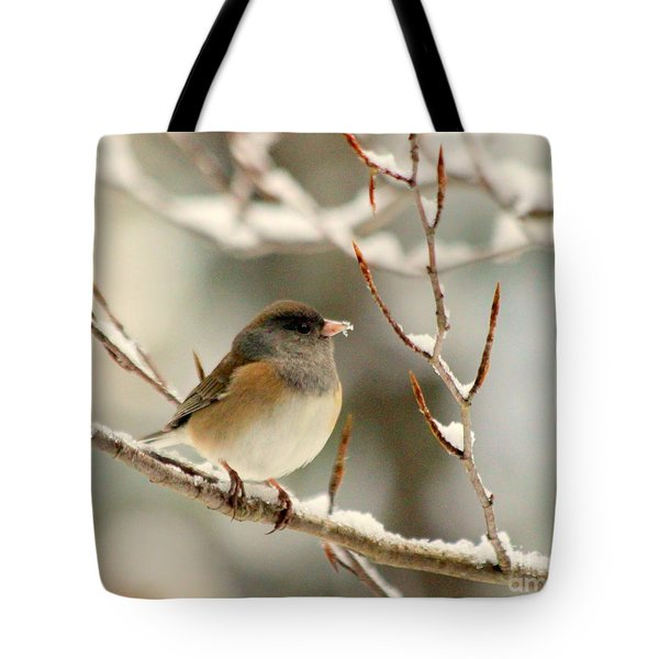 First Snow Tote Bag by Irina Hays