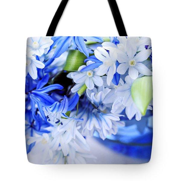 First Spring Flowers Tote Bag by Elena Elisseeva