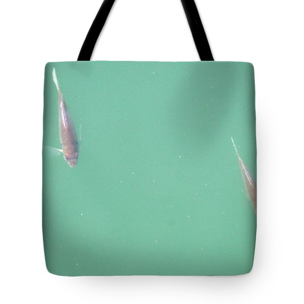 2 Fish In A Pond Tote Bag