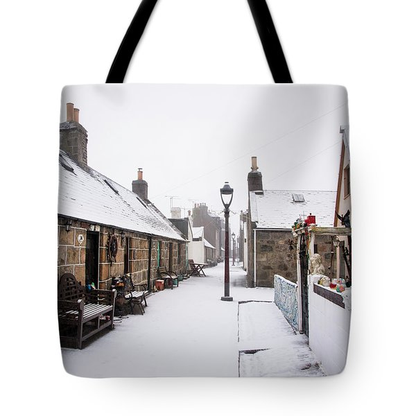 Fittie In The Snow Tote Bag