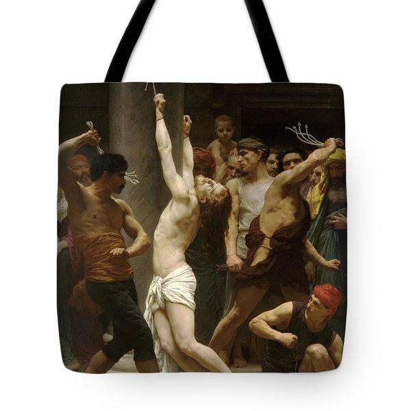 Flagellation Of Christ Tote Bag