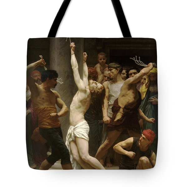 Flagellation Of Christ Tote Bag