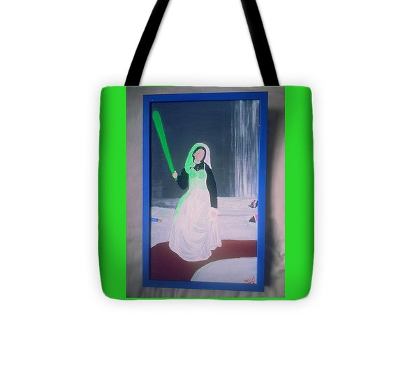 Florescent Lighting Gale Tote Bag by MERLIN Vernon
