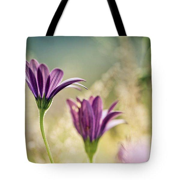 Flower On Summer Meadow Tote Bag