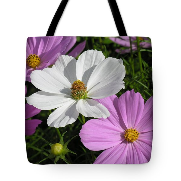 Flowers Tote Bag by Diane Greco-Lesser