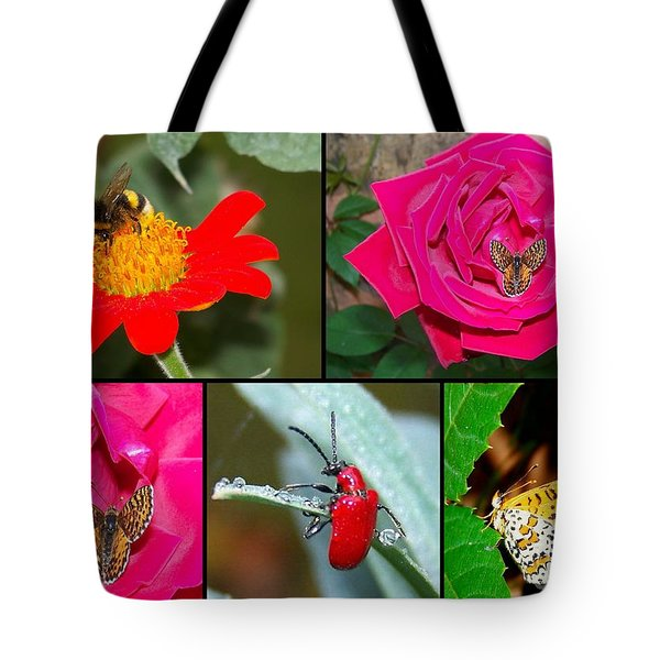 Flowers Tote Bag by Sylvie Leandre
