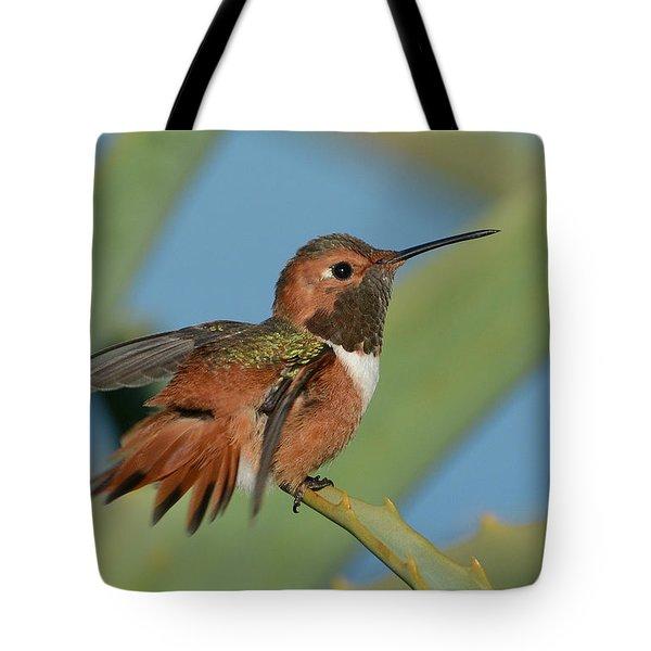 Flutter Tote Bag by Fraida Gutovich
