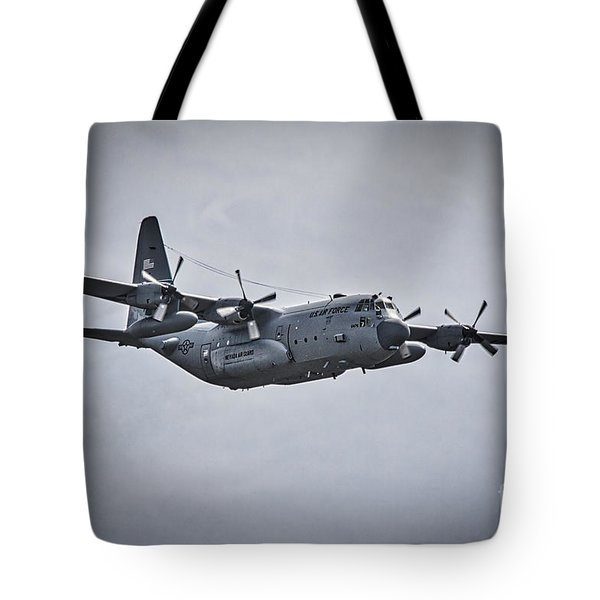 Tote Bag featuring the photograph Flying Low by Mitch Shindelbower