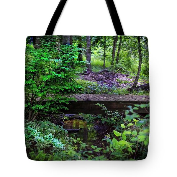 Forest Environment Tote Bag