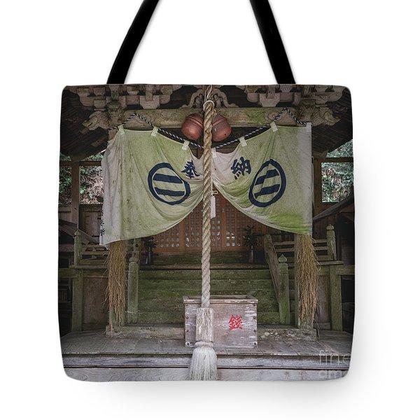 Forrest Shrine, Japan Tote Bag