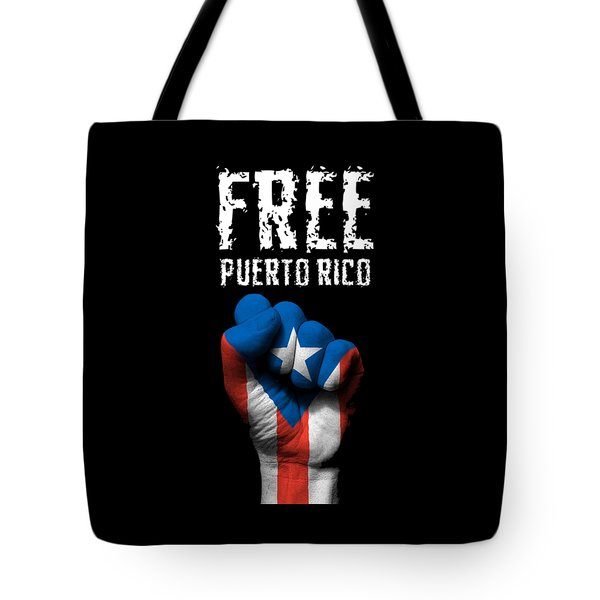 Free Puerto Rico Tote Bag