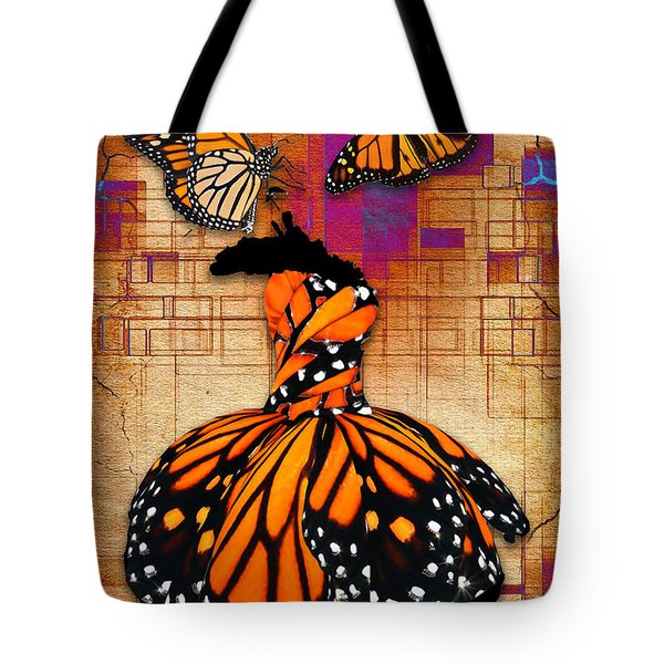 Tote Bag featuring the mixed media Freedom To Be by Marvin Blaine