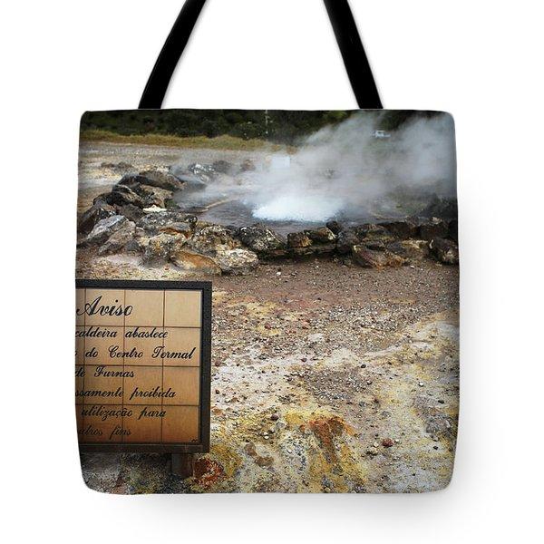 Furnas - Azores Tote Bag by Gaspar Avila