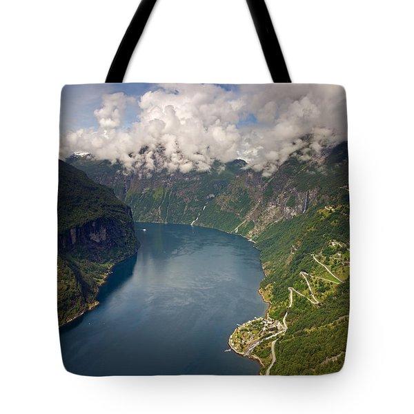 Geirangerfjord Tote Bag