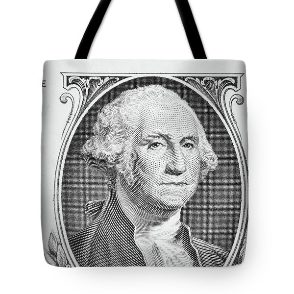 Tote Bag featuring the photograph George Washington by Les Cunliffe