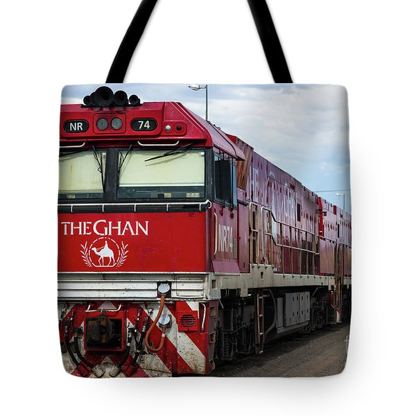ghan at Alice Springs Tote Bag