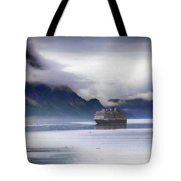 Glacier Bay Alaska Tote Bag