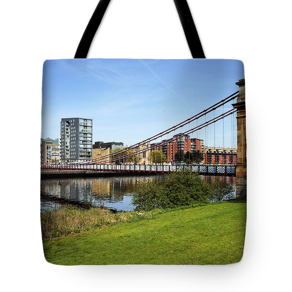 Tote Bag featuring the photograph Glasgow by Jeremy Lavender Photography