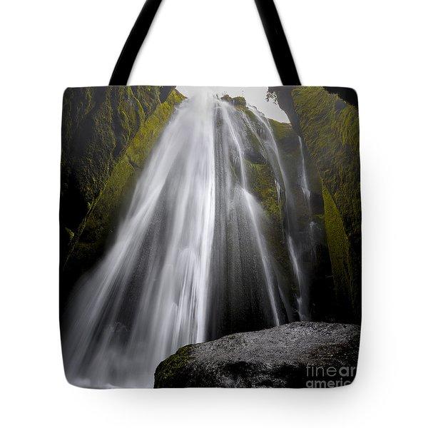 Gljufrabui Tote Bag by Gunnar Orn Arnason
