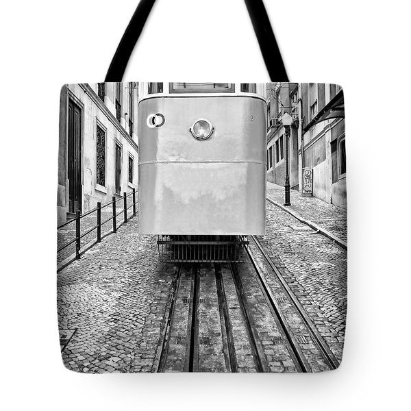 Gloria Funicular Tote Bag by Jose Elias - Sofia Pereira