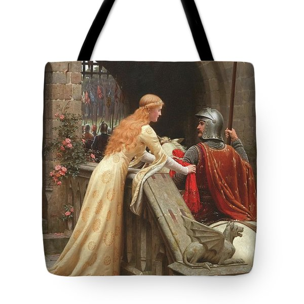 God Speed  Tote Bag by Edmund Blair Leighton