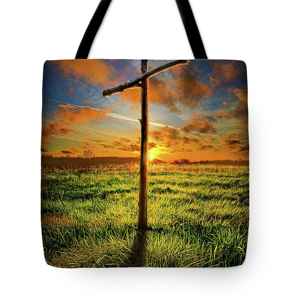 Tote Bag featuring the photograph Good Friday by Phil Koch