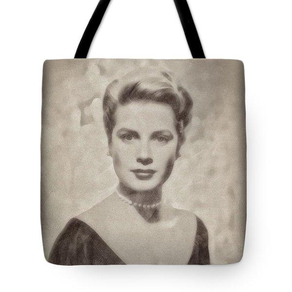 Grace Kelly, Actress And Princess Tote Bag