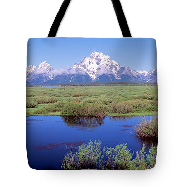 Grand Teton Park, Wyoming, Usa Tote Bag
