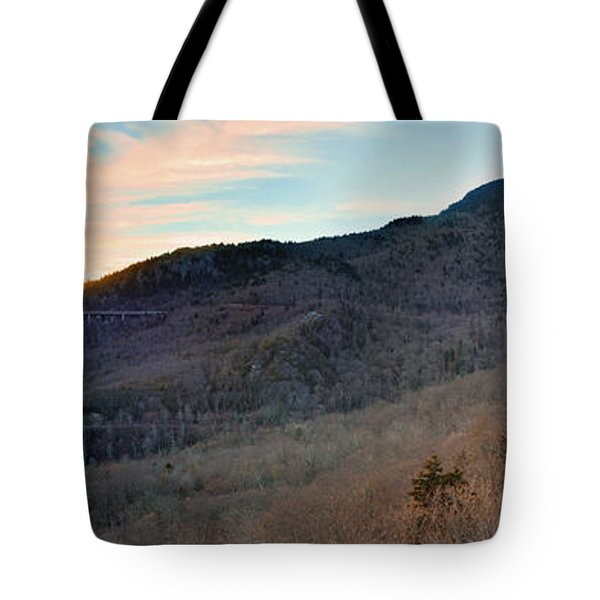 Tote Bag featuring the photograph Grandfather Mountain by Ray Devlin