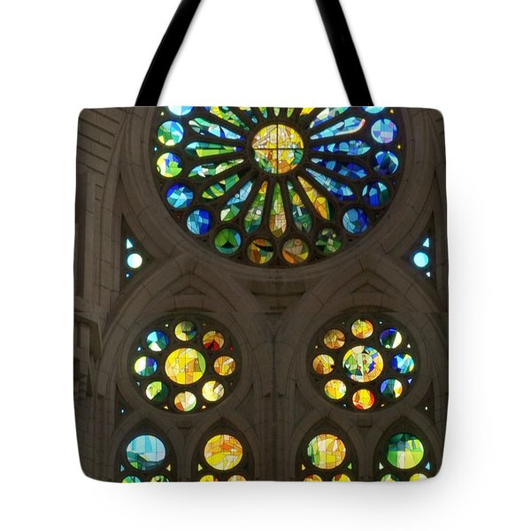 Graphic Art From Photo Library Of Photographic Collection Of Christian Churches Temples Of Place Of  Tote Bag