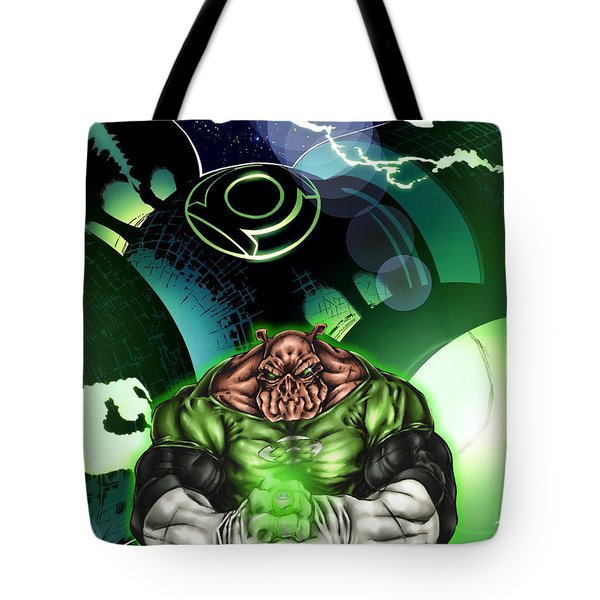 Green Lantern Tote Bag