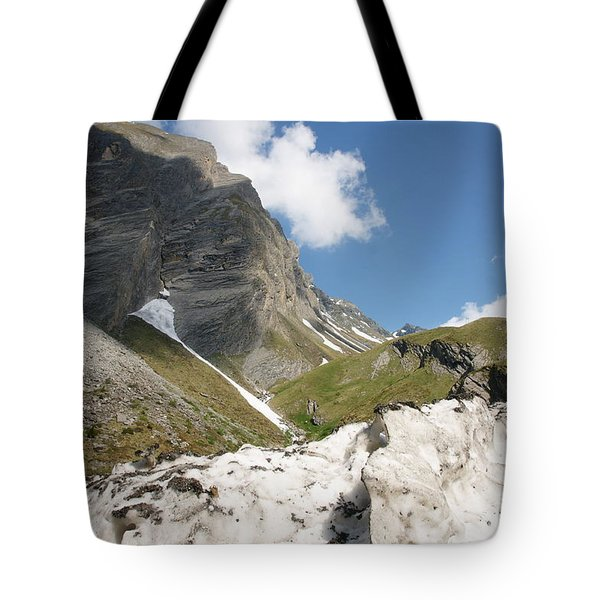 Tote Bag featuring the photograph Grossglockner by Christian Zesewitz