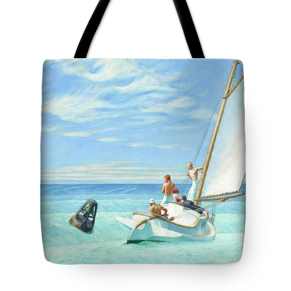 Ground Swell Tote Bag