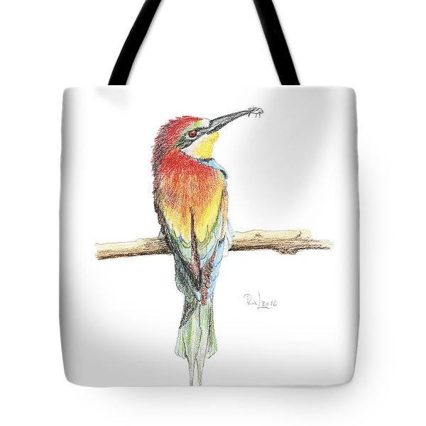 Gruccione - Bee Eater - Merops Apiaster Tote Bag