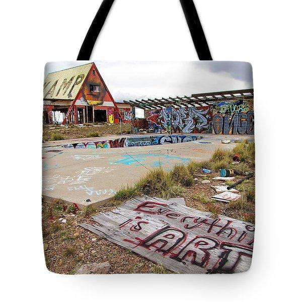 2 Guns Koa Tote Bag