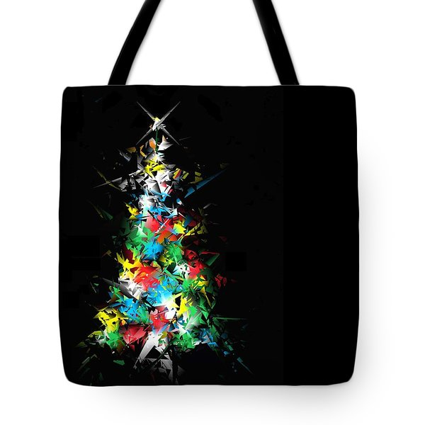 Happy Holidays Tote Bag by Ludwig Keck