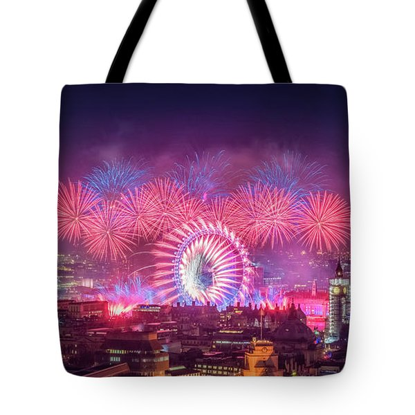 Happy New Year 2018 Tote Bag