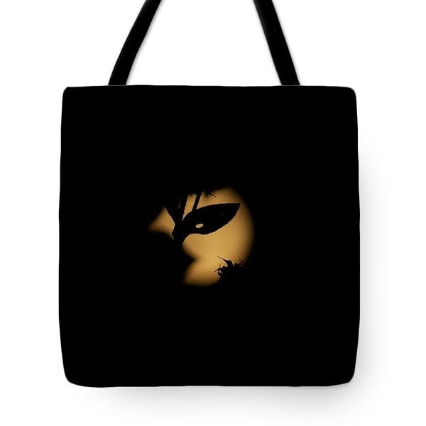 Tote Bag featuring the photograph Harvest Moon Masquerade by Deborah Moen