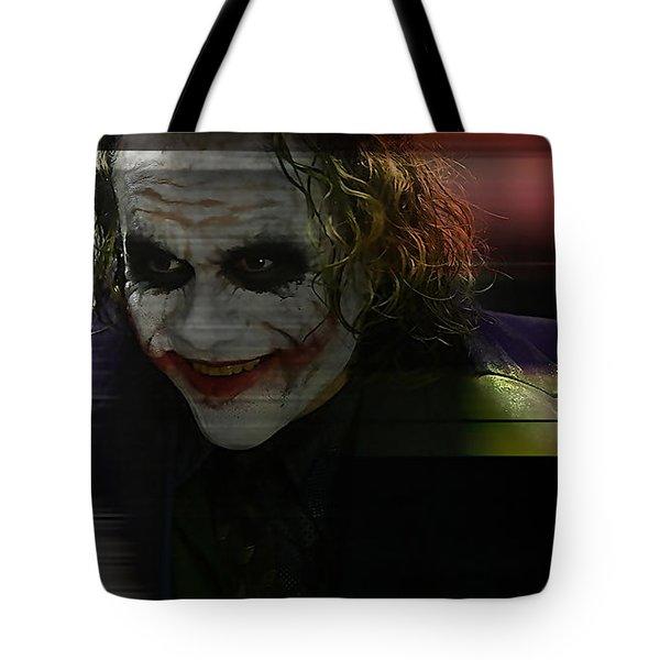 Heath Ledger Tote Bag