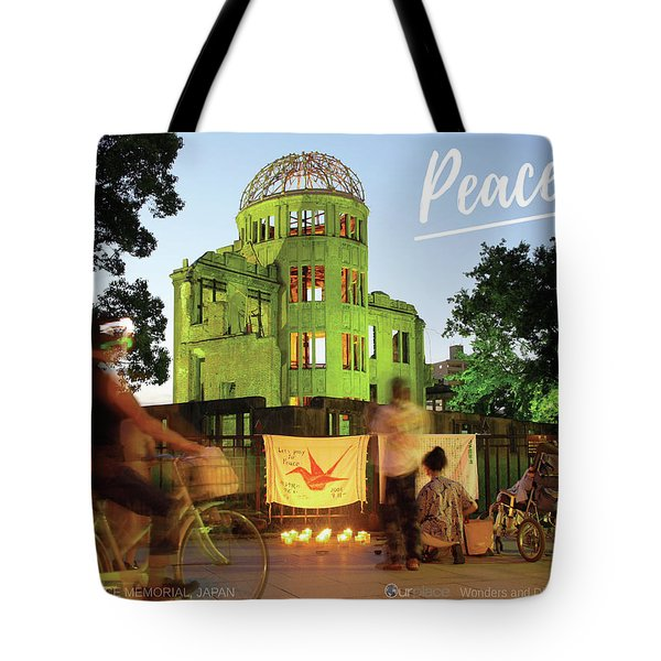 Hiroshima Peace Memorial, Japan Tote Bag