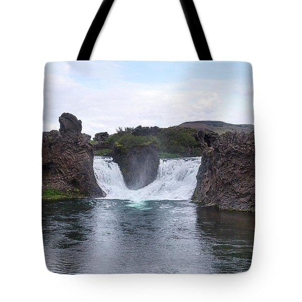 Hjalparfoss - Iceland Tote Bag