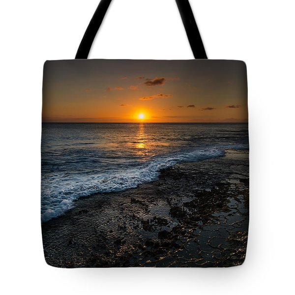 Honolulu Sunset Tote Bag